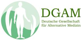 Mitglied in der DGAM (Deutsche Gesellschaft für Alternative Medizin)